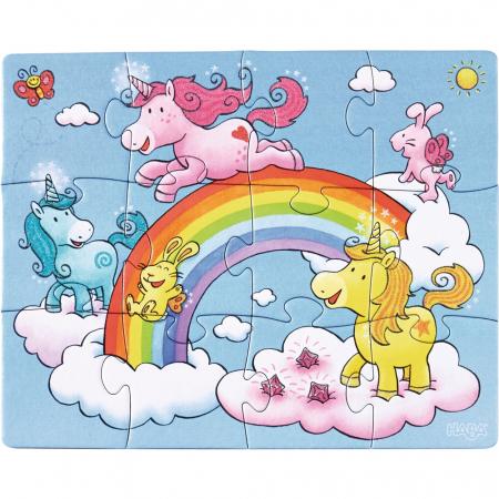 Unicorni cu sclipici – puzzle evolutiv Haba3