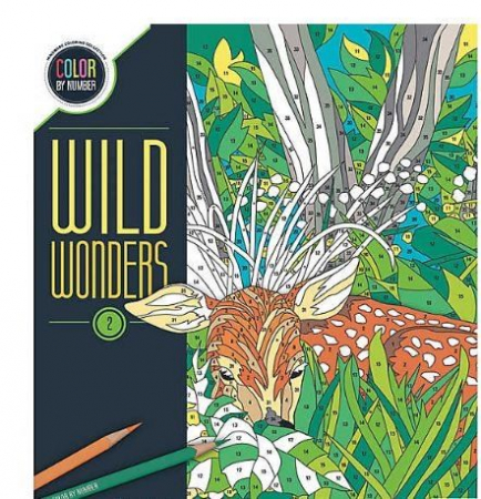 Wild Wonders Color by Number: Book 20