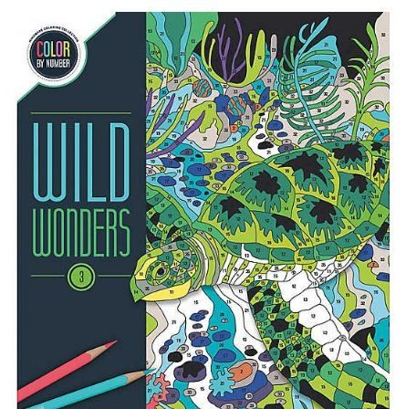 Wild Wonders Color by Number: Book 30
