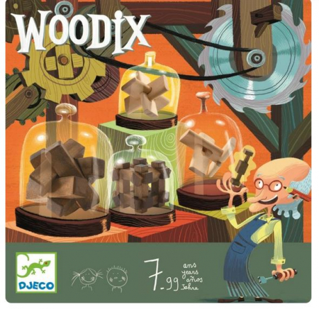 Woodix 6 jocuri logice din lemn0