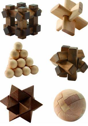 Woodix 6 jocuri logice din lemn1