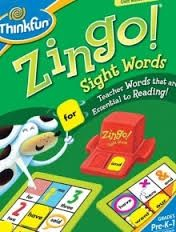 Zingo Sight Words0