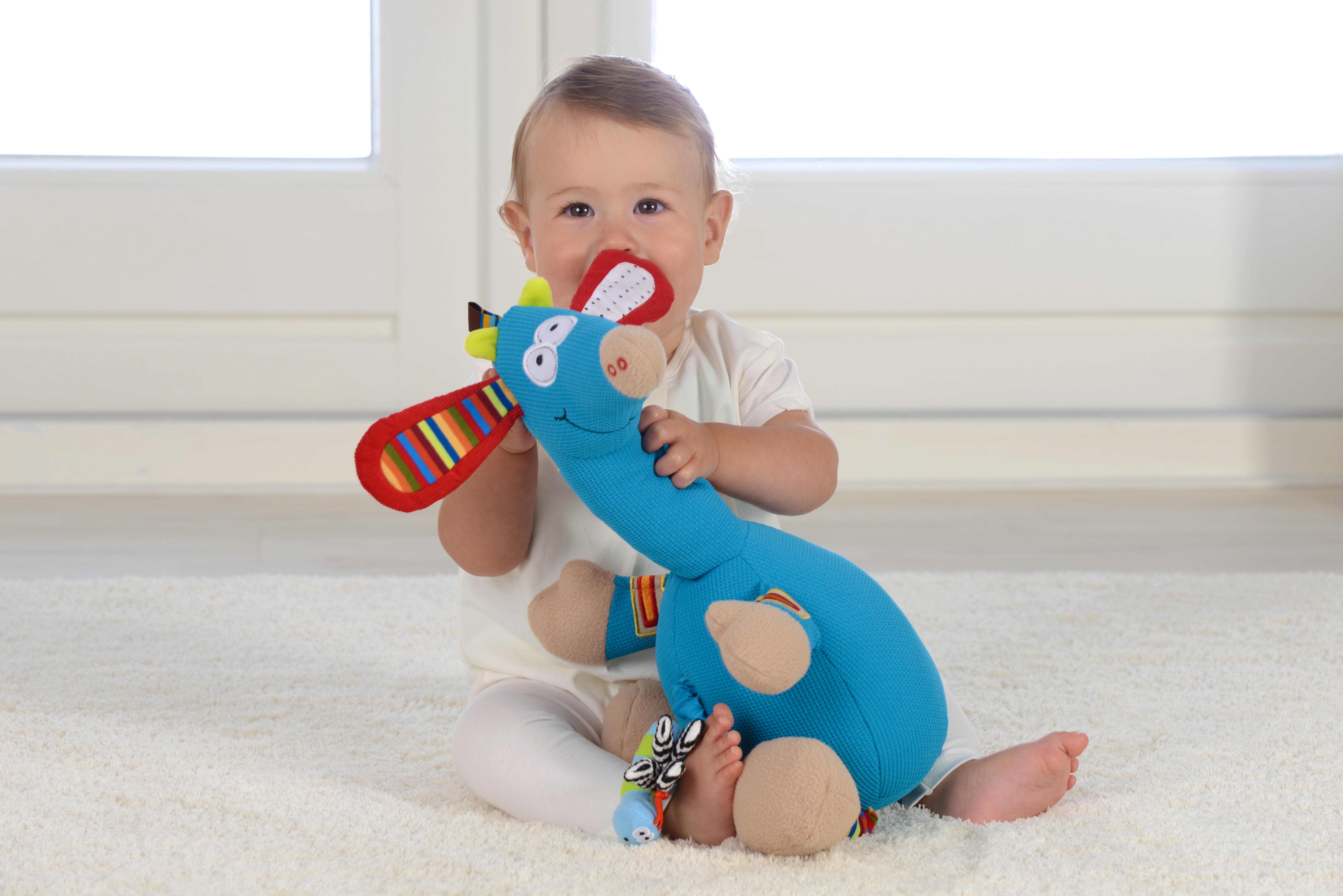 Girafă muzicală, jucărie senzorială2