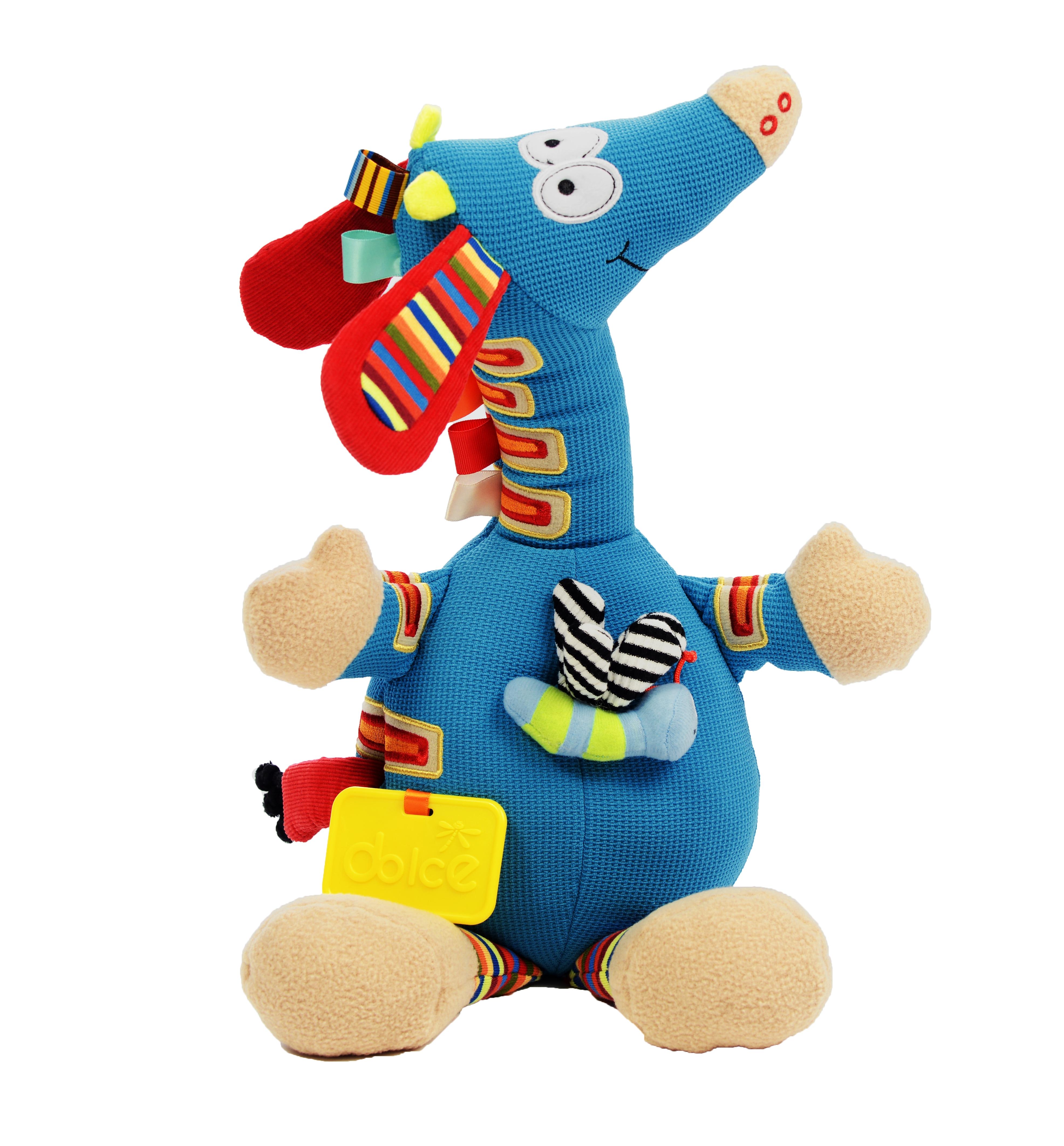 Girafă muzicală, jucărie senzorială0