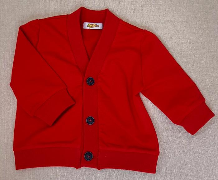 Jachetă din bumbac ~ roșie [0]