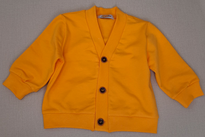 Jachetă din bumbac ~ galben muștar [0]