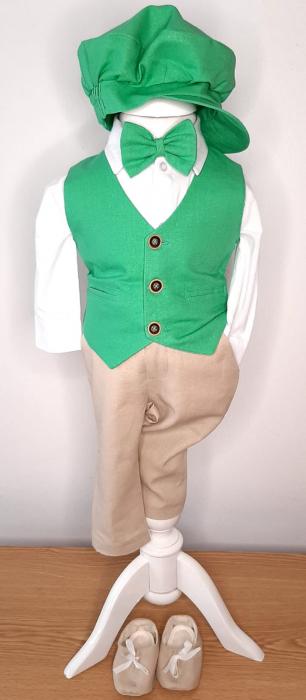 Costum cu vestă verde [0]