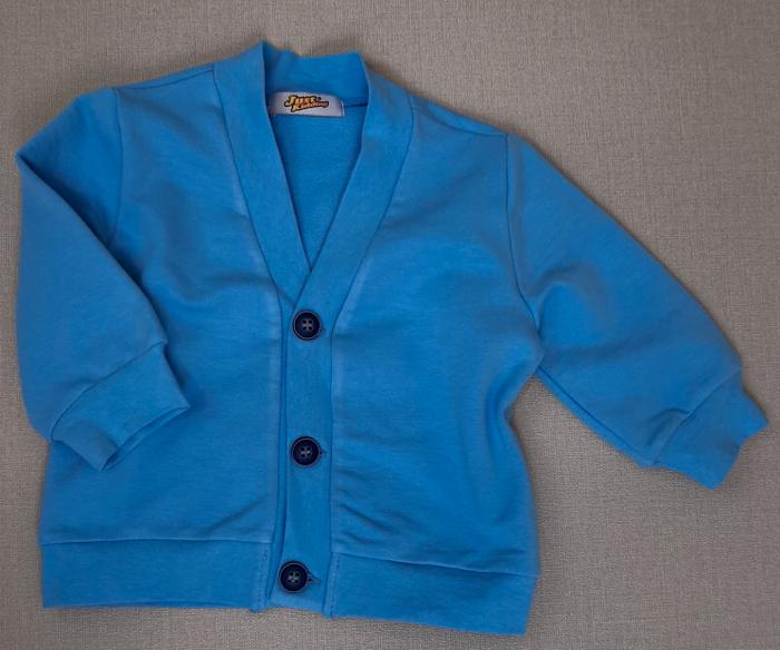 Jachetă din bumbac ~ albastru [0]