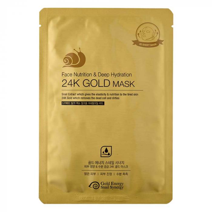 Mască Face Nutrition, Gold Snail, (1 buc) [1]