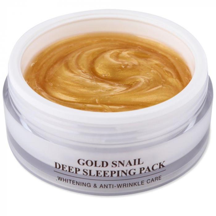 Cremă de noapte coreeana, Gold Snail (100 ml) [1]