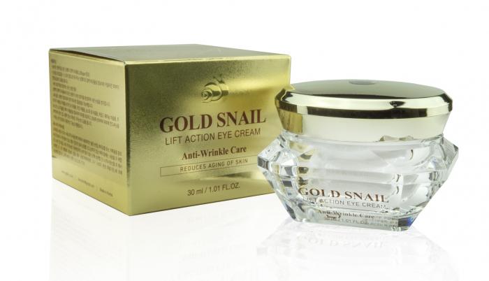Cremă de ochi, Gold Snail (30ml) [0]