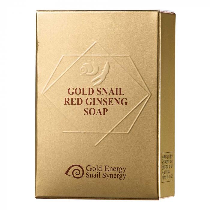 Săpun cu ginseng roșu, Gold Snail (90g) [2]
