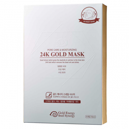 Mască Pore Care, Gold Snail (1 buc) [0]