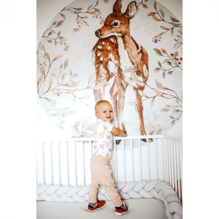 Autocolant Camera Copii Cerc Bambi [6]