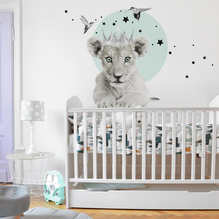 Autocolant Camera Copii Little Lion [0]