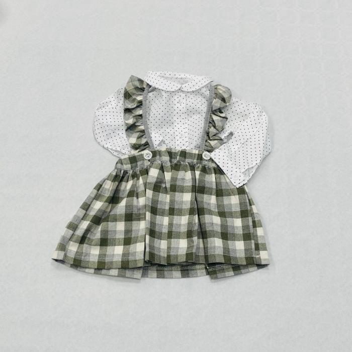 Costumas Fustita Si Camasa Pentru Fetite 6-24 Luni KAM0011 [1]