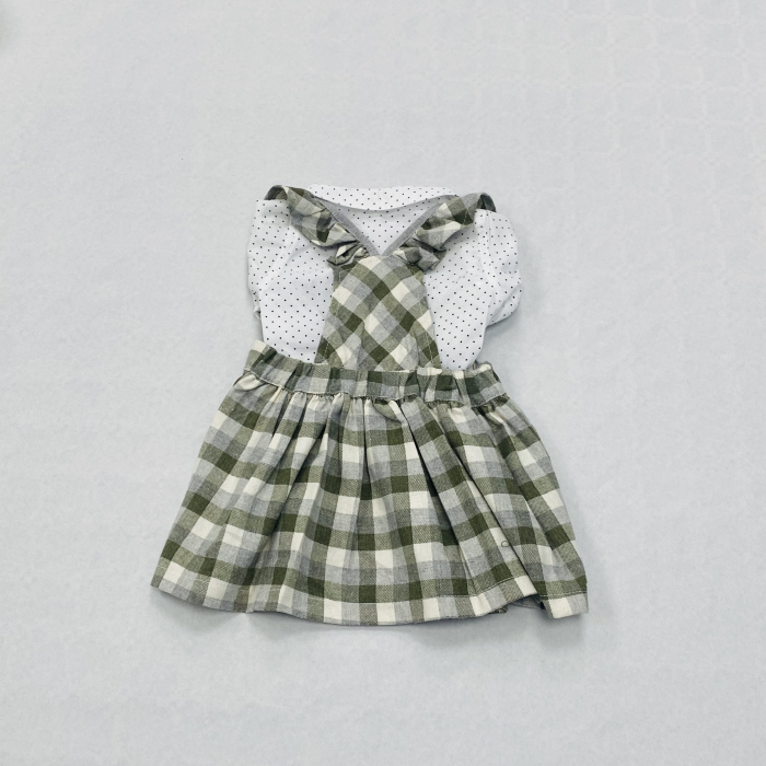 Costumas Fustita Si Camasa Pentru Fetite 6-24 Luni KAM0011 [2]