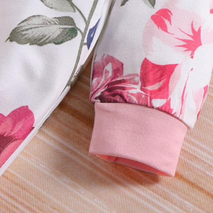 Salopeta Fete Cu Imprimeu Floral [3]