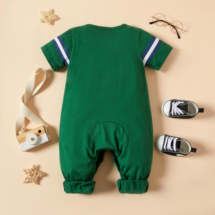 Salopeta Verde Baieti Costum Baseball [1]