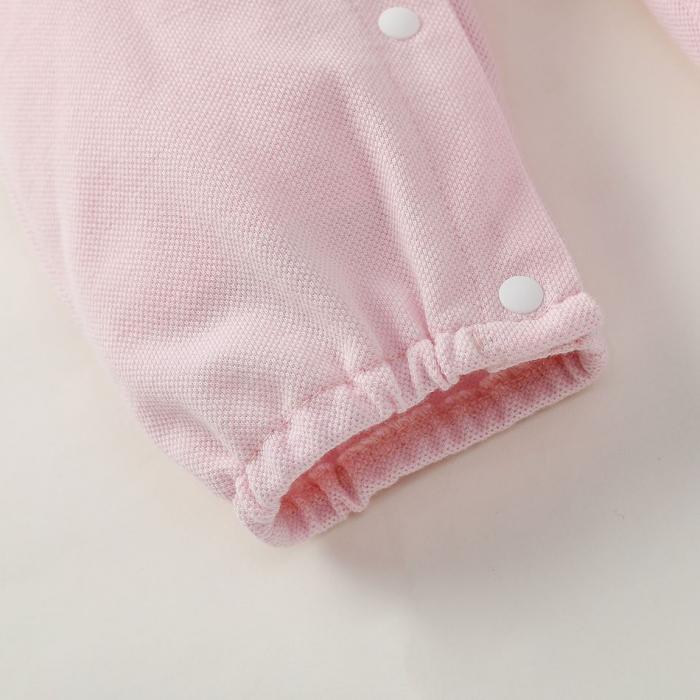 Salopeta Polo Roz Fetite [3]