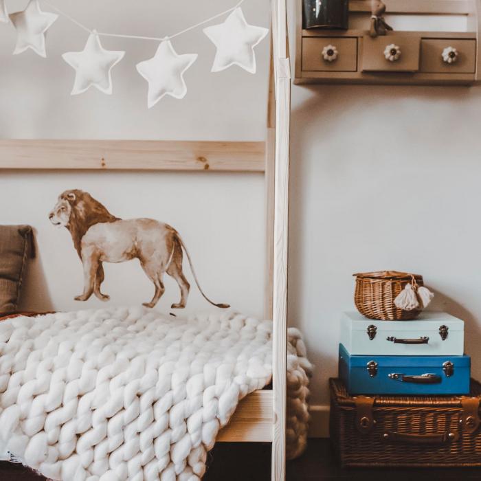 Set autocolante de perete pentru camera copiilor Savanna [9]
