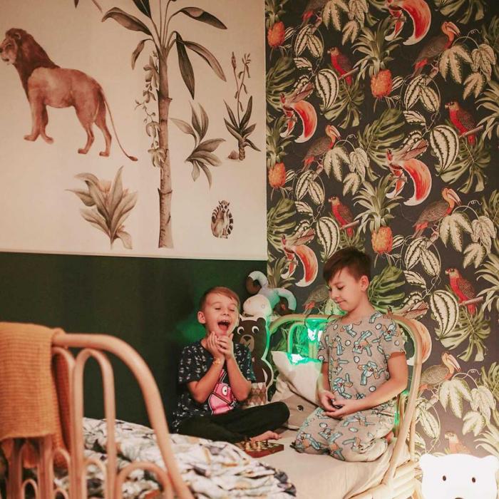 Set autocolante de perete pentru camera copiilor Savanna [10]