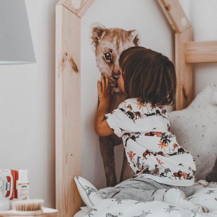 Set autocolante de perete pentru camera copiilor Savanna [2]