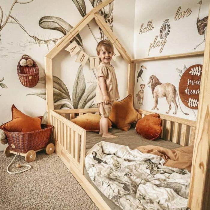 Set autocolante de perete pentru camera copiilor Savanna [4]