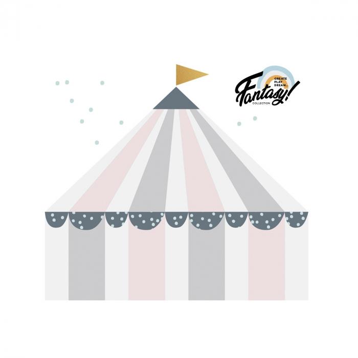 Set autocolante pentru camera copiilor Circus Pastel [1]