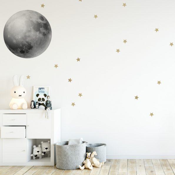 Set autocolante pentru camera copiilor Full Moon [0]