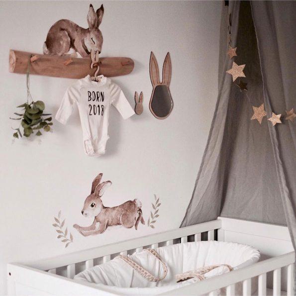 Set autocolante pentru camera copiilor Happy Rabbits Wonderland [8]