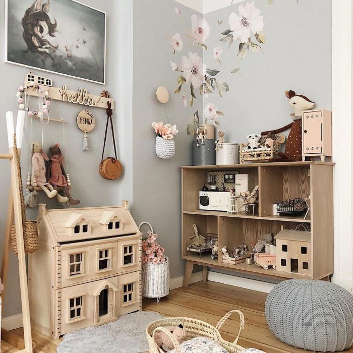 Set autocolante pentru camera copiilor Magnolii [3]