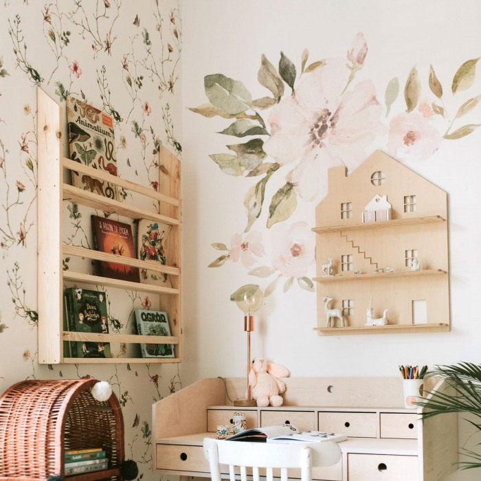 Set autocolante pentru camera copiilor Magnolii [6]
