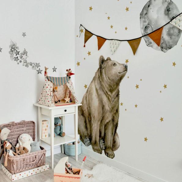 Set autocolante pentru camera copiilor Mr. Bear [0]