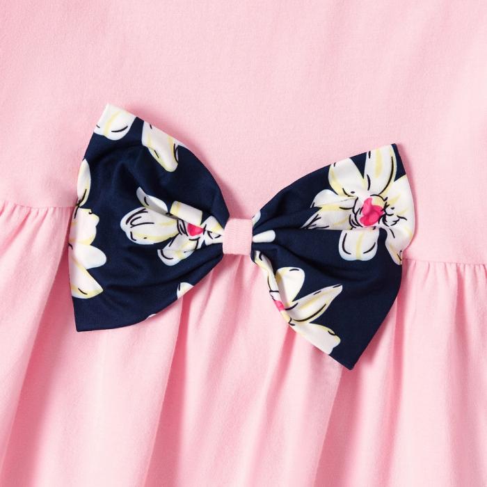Set Bluza Si Pantaloni Cu Imprimeu Floral [3]