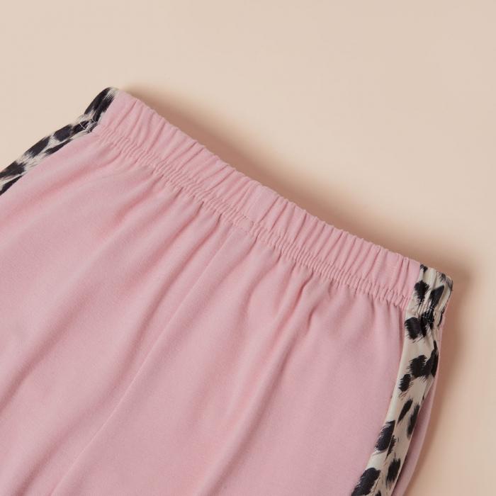 Set Bluza Si Pantaloni Leopard Roz Fete 18 Luni-5 Ani [4]