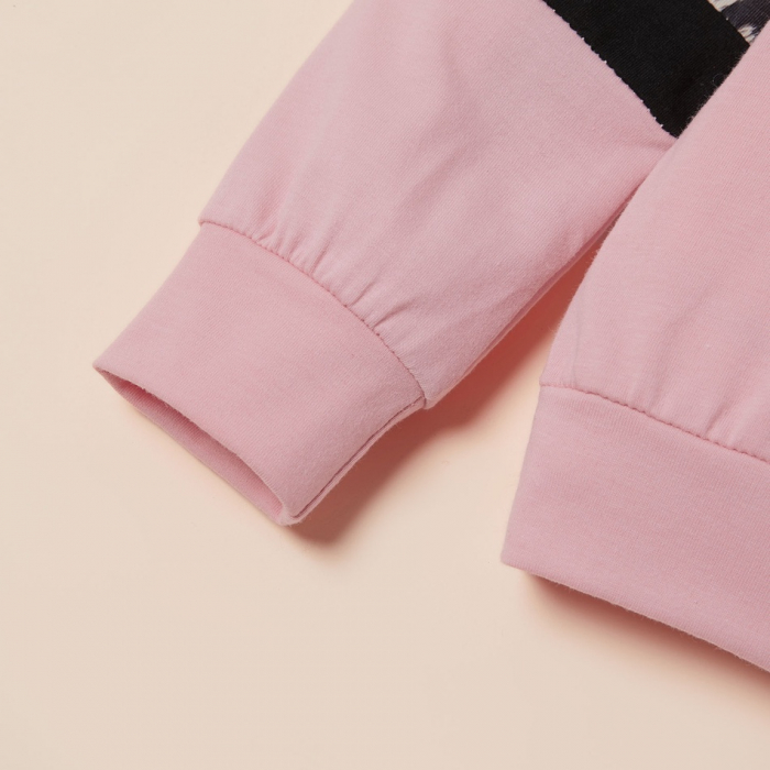 Set Bluza Si Pantaloni Leopard Roz Fete 18 Luni-5 Ani [3]