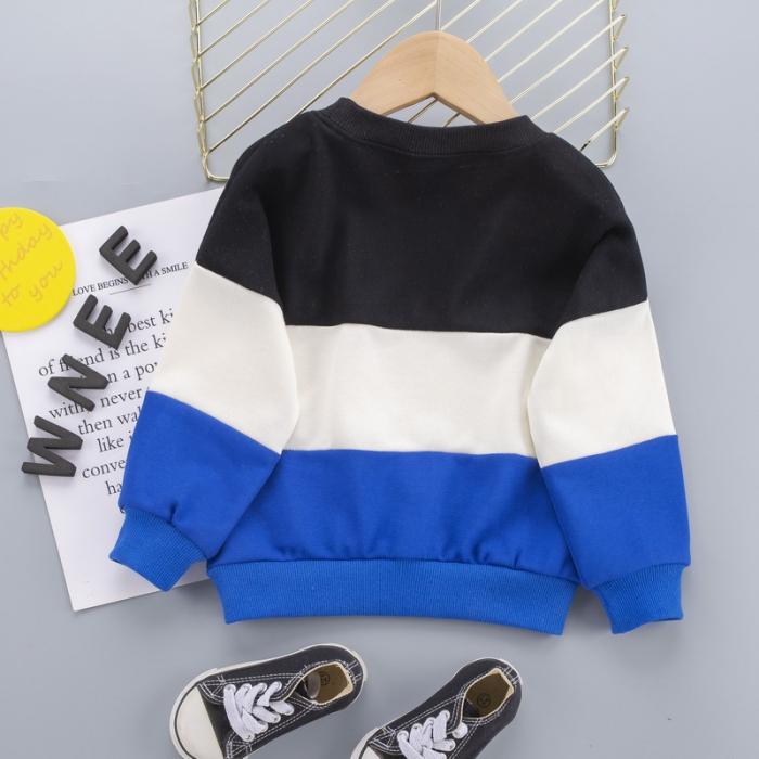 Set Bluza Si Pantaloni Sunshine Albastru Baieti 1-3 Ani [2]