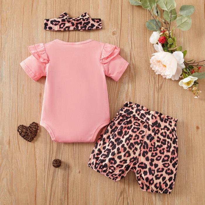 Set Body si Pantaloni Leopard Fetite [1]