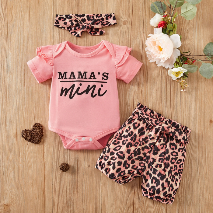 Set Body si Pantaloni Leopard Fetite [0]