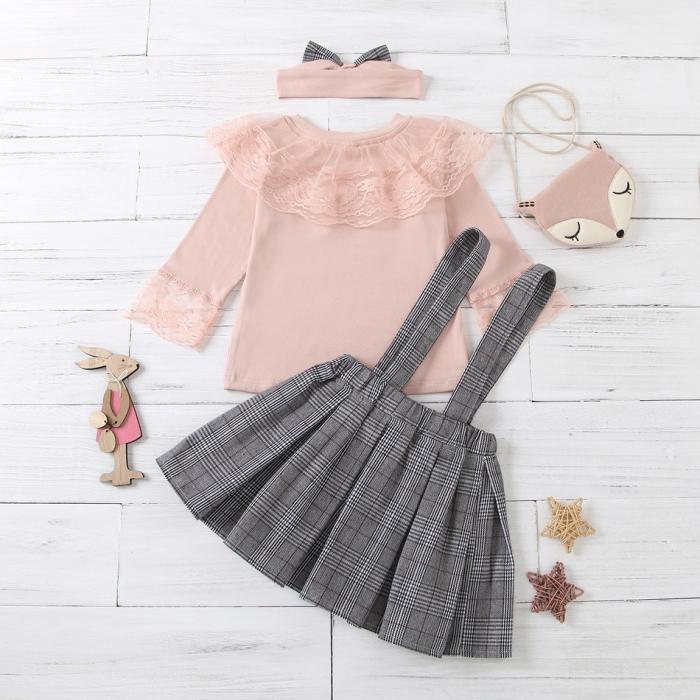 Set Fusta Bluza Si Bentita Fox [1]