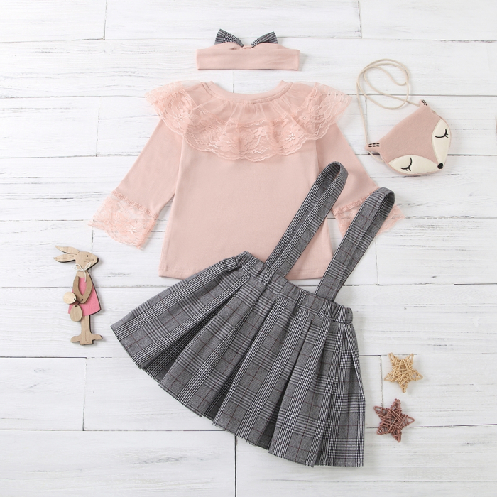 Set Fusta Bluza Si Bentita Fox [2]