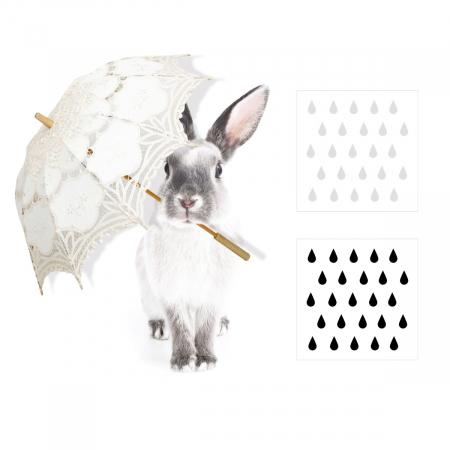Autocolant Camera Copii Harry In The Rain [1]