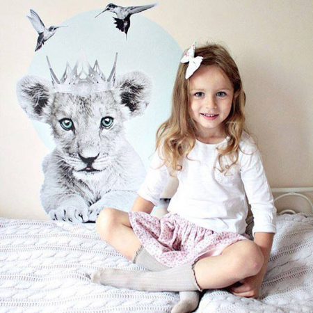 Autocolant Camera Copii Little Lion [4]