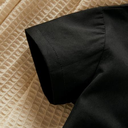 Body Negru Camasa cu Papion Baieti [4]