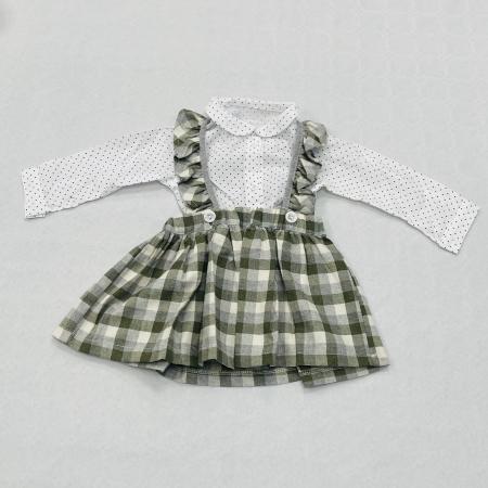 Costumas Fustita Si Camasa Pentru Fetite 6-24 Luni KAM0011 [3]