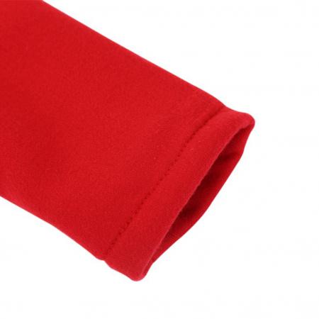 Palton Rosu cu Urechi de Iepuras Pentru Fete PT00021 [3]