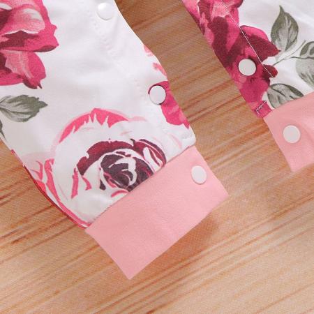 Salopeta Fete Cu Imprimeu Floral [4]