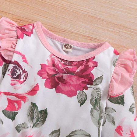 Salopeta Fete Cu Imprimeu Floral [2]