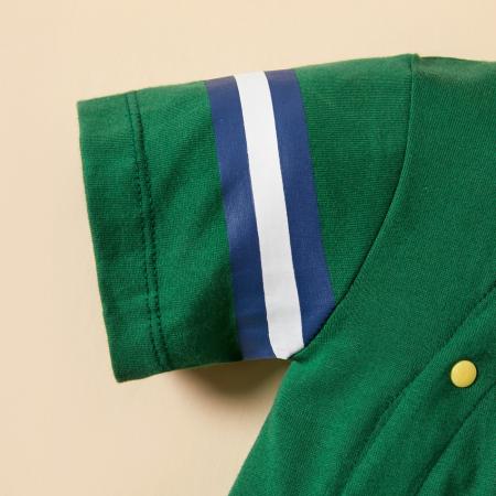 Salopeta Verde Baieti Costum Baseball [3]